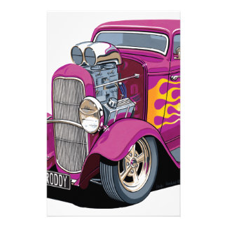1932 Ford Hot Rod - Roddy Personalized Stationery