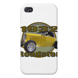 1932 Ford Roadster Carmel Captain iPhone 4/4S Cases