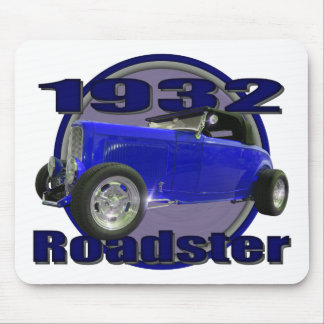 1932 Ford Roadster Midnight Blue Mousepad