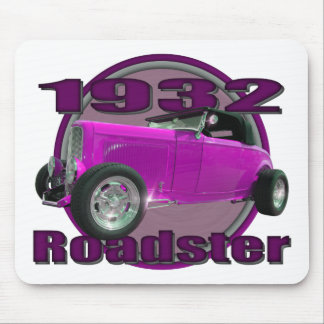 1932 Ford Roadster Think Pink Mouse Pad