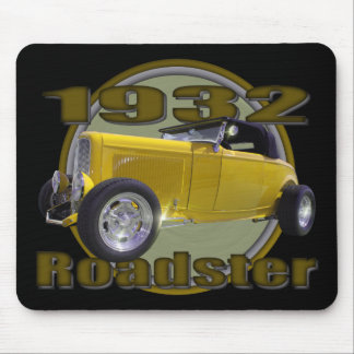 1932 Ford Roadster yellow black Mouse Pad