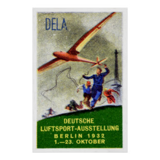 1932 Model Aircraft Competition Poster
