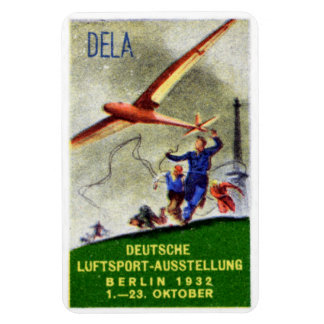 1932 Model Aircraft Competition Poster Rectangular Photo Magnet