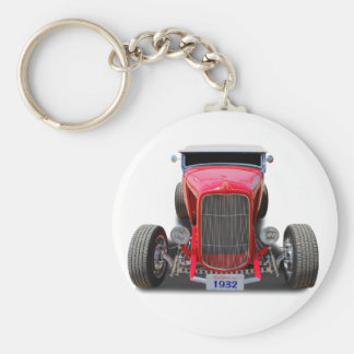 1932  Red Roadster Keychain