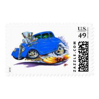 1933-36 Willys Blue Car Postage