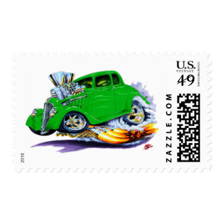 1933-36 Willys Green Car Postage