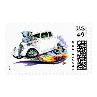 1933-36 Willys White Car Postage