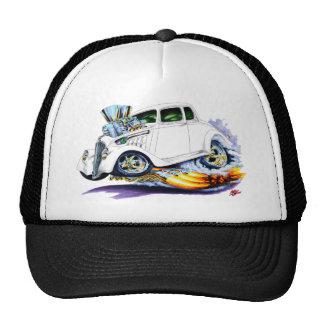 1933-36 Willys White Car Trucker Hat