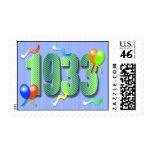 1933 80.os sellos del cumpleaños