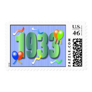 1933 80th Birthday Stamp