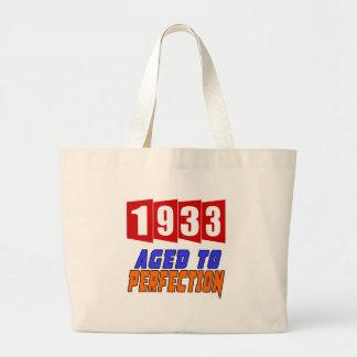 1933 Aged To Perfection Jumbo Tote Bag