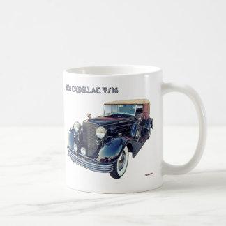 1933 CADILLAC V/16 #2 CLASSIC WHITE COFFEE MUG