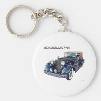1933 CADILLAC V/16 #2 KEYCHAIN