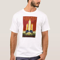 1933 Century of Progress Worlds Fair, Chicago, IL T-Shirt