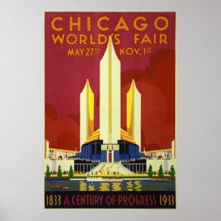 1933 Chicago World s Fair Poster