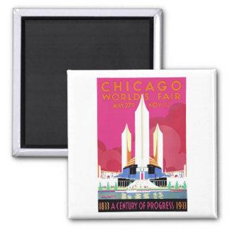 1933 Chicago World's Fair #2 Magnet