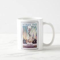 1933 Chicago World's Fair Coffee Mug