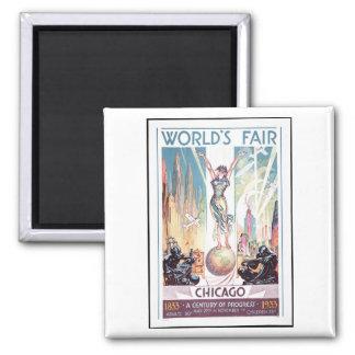 1933 Chicago World's Fair Magnet