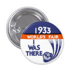 1933 Chicago World's Fair Replica Button