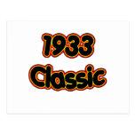 1933 Classic Postcards