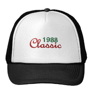1933 Classic Trucker Hat
