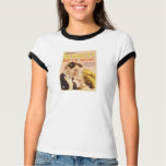 1933 Constance Bennett 'Bed of Roses' movie poster T-shirts