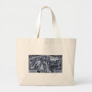 1933 Deliverance of Vienna Postage Stamp Jumbo Tote Bag