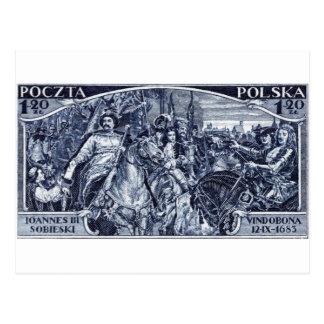 1933 Deliverance of Vienna Postage Stamp Postcard