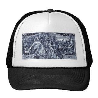 1933 Deliverance of Vienna Postage Stamp Trucker Hat