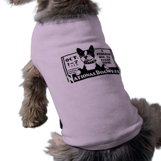 1933 National Dog Week Poster Dog T-shirt