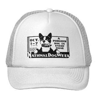 1933 National Dog Week Poster Trucker Hat