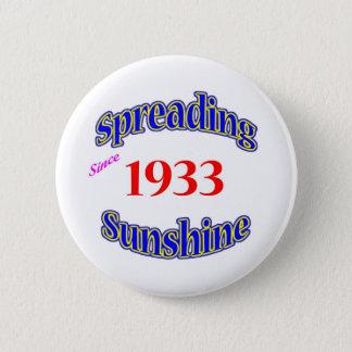 1933 Spreading Sunshine Button