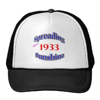 1933 Spreading Sunshine Trucker Hat