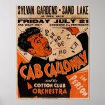 1933 Vintage Cab Calloway Concert Poster Hi-Res