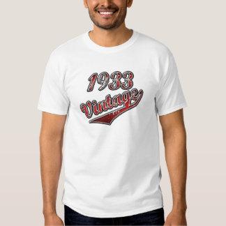 1933 Vintage Shirts