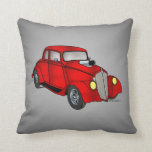 1933 Willys Coupe Throw Pillow