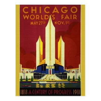 1933 World's Fair Postcard