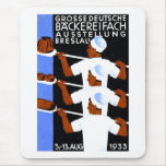 1933 Wroclaw / Breslau Expo Poster Mouse Pad