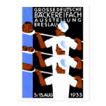 1933 Wroclaw / Breslau Expo Poster Postcard