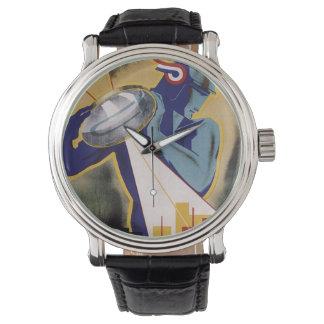 1934 Art Deco Jaarbeurs Utrecht Wristwatch