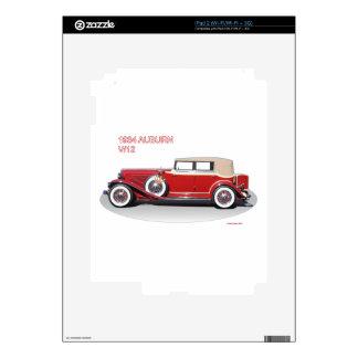 1934 AUBURN 2 SKIN FOR THE iPad 2