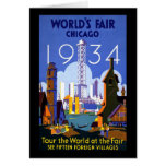 1934 Chicago World's Fair Card