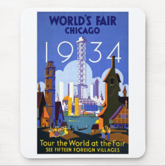 1934 Chicago World's Fair Mouse Pad