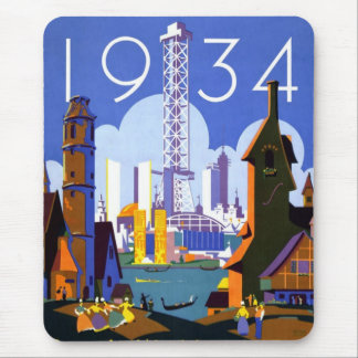 1934 Chicago World's Fair Mouse Pads