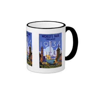 1934 Chicago World's Fair Mugs