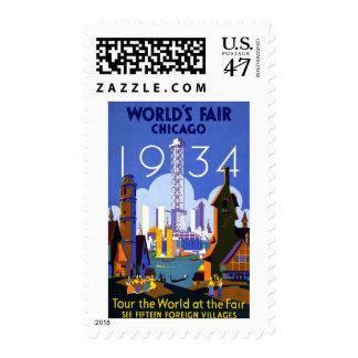 1934 Chicago World's Fair Postage