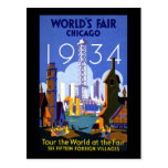 1934 Chicago World's Fair Postcards