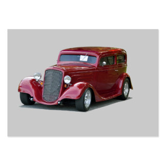 1934 Customized Coupe Hot Rod Large Business Cards (Pack Of 100)