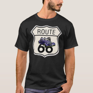 1934 Ford/Route66 sign T-shirt