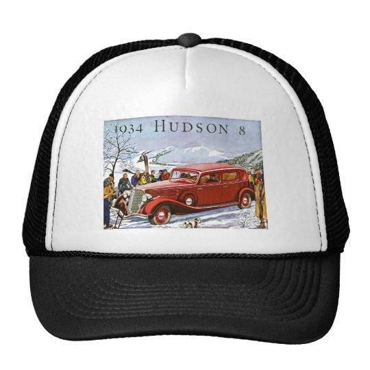 1934 Hudson 8 - Vintage Advertisement Trucker Hat